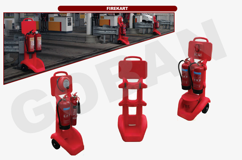 Firekart para 2 extintores